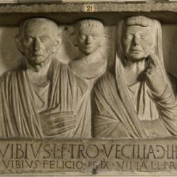 Portrait of Lucius Vibius and Family