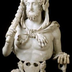 Commodus as Hercules